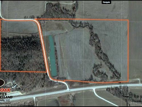 74 Acres Great Production And Hunt : Altoona : Wilson County : Kansas