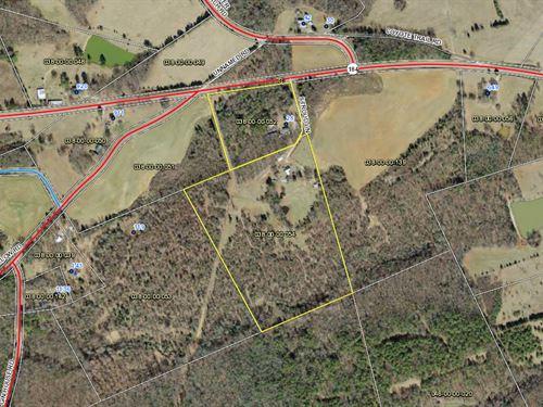 Farm With Creek : Iva : Abbeville County : South Carolina