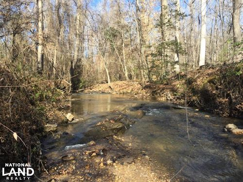 Lugoff Homesite With Stream And Hom : Lugoff : Kershaw County : South Carolina