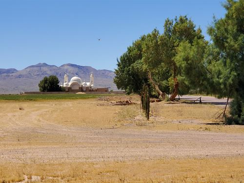 Prime Ag/Res Land, Power, $395/Mo : Newberry Springs : San Bernardino County : California