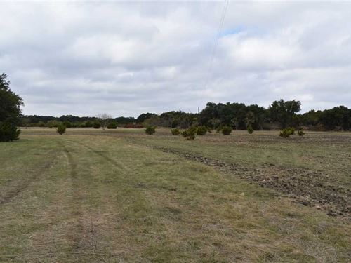 Hunting Land in Central Texas, 33 : Goldthwaite : Mills County : Texas