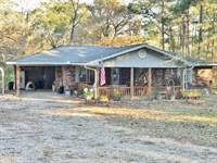 Country Home & 61 Acres : Kokomo : Marion County : Mississippi