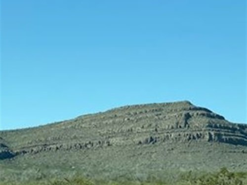 20 Acres Starting At $6800 Cash : Sierra Blanca : Hudspeth County : Texas