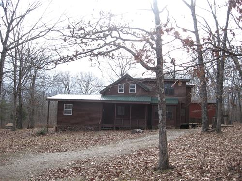 Rustic Country Home On 7 Acres M/L : Fredericktown : Madison County : Missouri