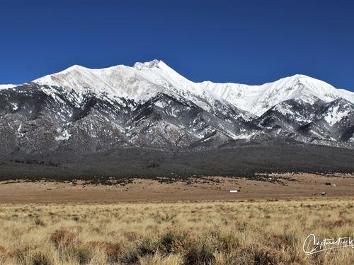 Acres Near Panoramic Mountain Views : Blanca : Costilla County : Colorado