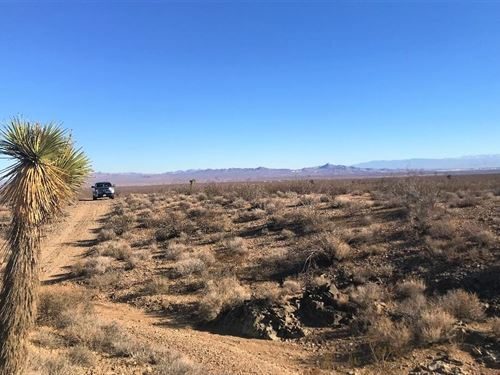Nice And Pristine Acreage, $273/M : Adelanto : San Bernardino County : California