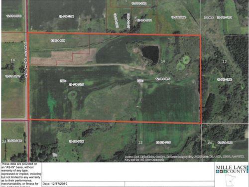 Milaca Area Land For Sale : Milaca : Mille Lacs County : Minnesota