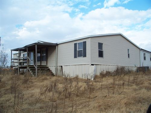 80 Ac, Real Estate Auction, 3 : Stigler : Haskell County : Oklahoma