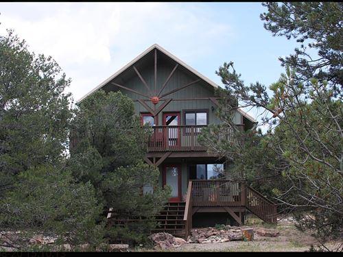 Mountain Home No Hoa's Acreage : Salida : Chaffee County : Colorado