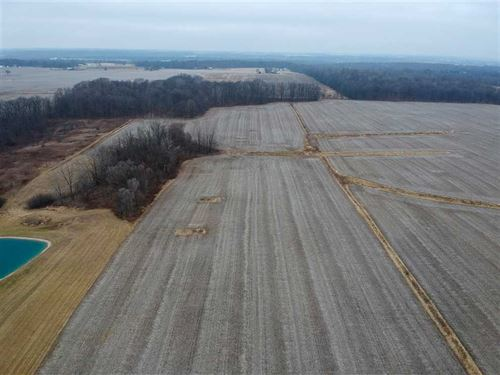 26 Acres, 19 Tillable 7 Woods Land : Peru : Miami County : Indiana