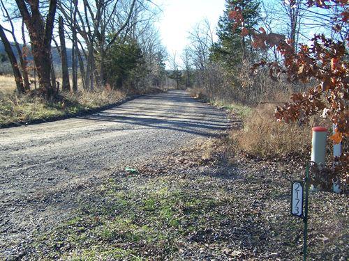 20.7 Ac Hunting / Recreational Land : Marshall : Searcy County : Arkansas