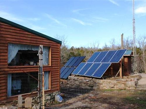 Off Grid Property Central Sharp : Evening Shade : Sharp County : Arkansas