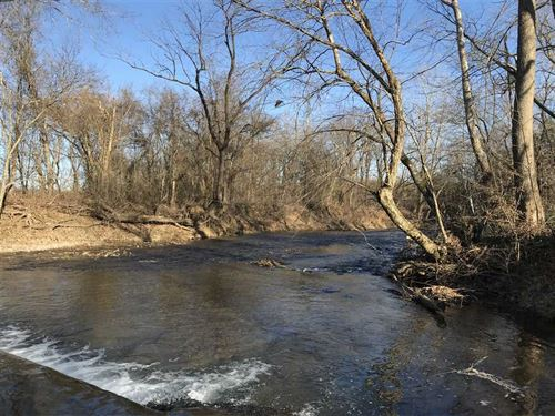 58 Acres, Partially Wooded : Strawberry : Sharp County : Arkansas