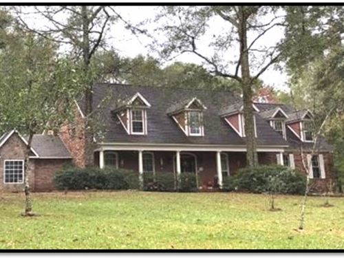 72 Acres With A Home In Amite Count : Smithdale : Amite County : Mississippi