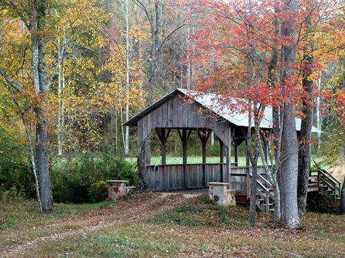 Hardwood Mountain Preserve : Fruithurst : Cleburne County : Alabama