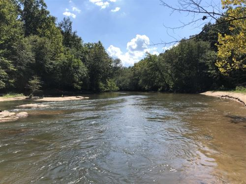74 Acres On Saluda River, Klim : Easley : Pickens County : South Carolina