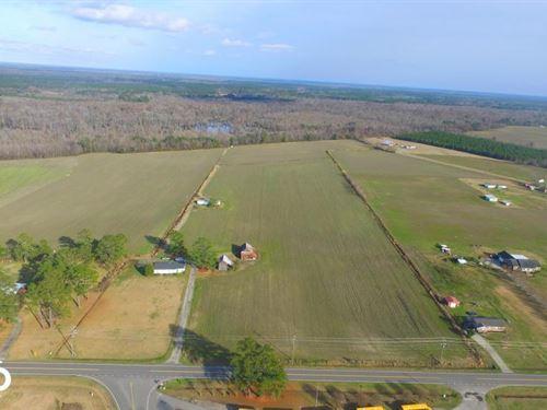 Riverfront Farm And Hunting Land : Lumberton : Robeson County : North Carolina