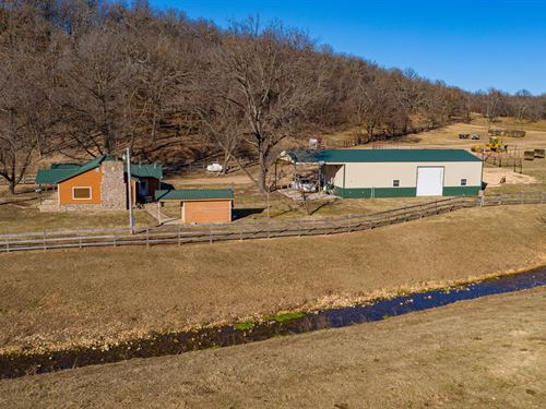 1,260 Acre Ranch Delaware Co, NE : Jay : Delaware County : Oklahoma