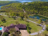 Lakefront Estate on Table Rock Lake : Branson West : Stone County : Missouri