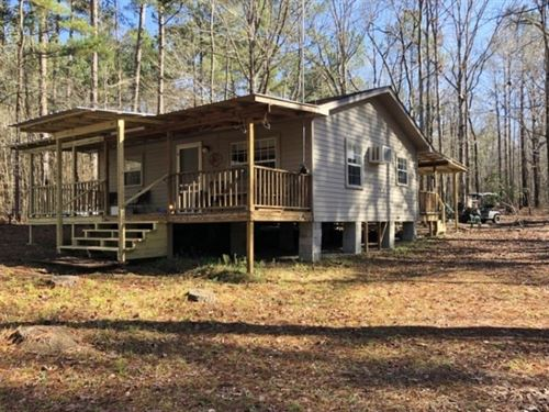 Camp House 49 Acres Land For Sale : Magnolia : Amite County : Mississippi