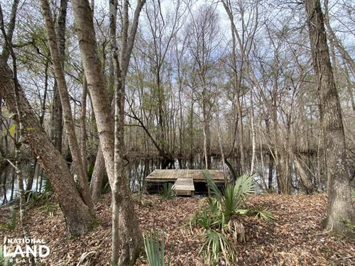 Combahee River Ponds : Yemassee : Colleton County : South Carolina