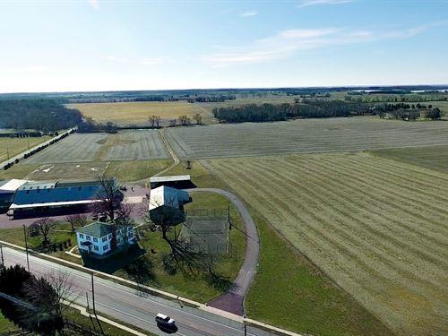 Farmland & Farm Business Operations : Shiloh : Cumberland County : New Jersey