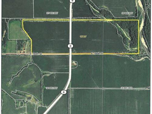 125 Acre M/L River Bottom Farm : Cainsville : Harrison County : Missouri