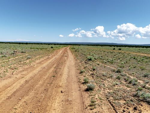 Ranch With Road & Mountain Views : Grants : Cibola County : New Mexico