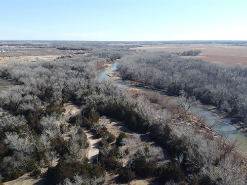 Arkansas River Property : Nickerson : Reno County : Kansas