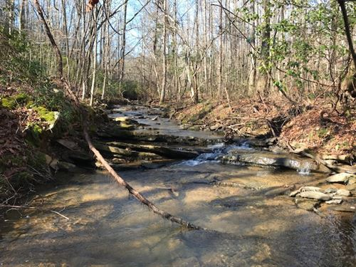 72 Acres, Stewart Head Creek : Pell City : Saint Clair County : Alabama