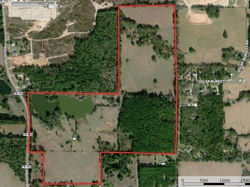 Tyler Texas Land Development : Tyler : Smith County : Texas