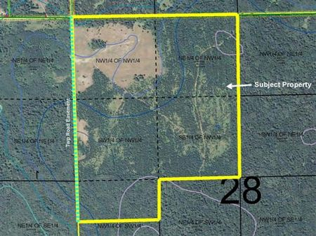 Cass, Loon Lk, 1362928, Nw,n2nwsw : Pequot Lakes : Cass County : Minnesota