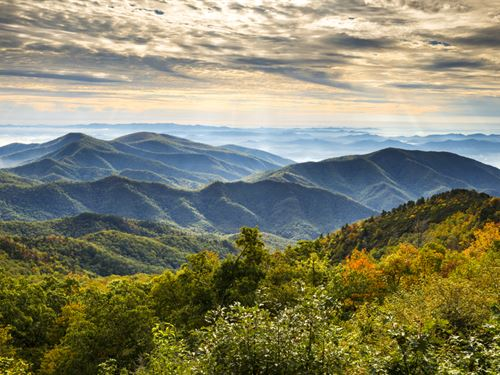 Asheville Acreage With Views : Candler : Buncombe County : North Carolina