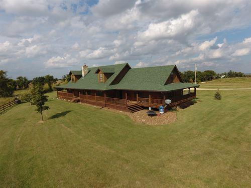Rawhide Cabin : Solomon : Dickinson County : Kansas
