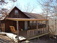 5.89 Acres With Rustic Cabin : Saint Joe : Searcy County : Arkansas