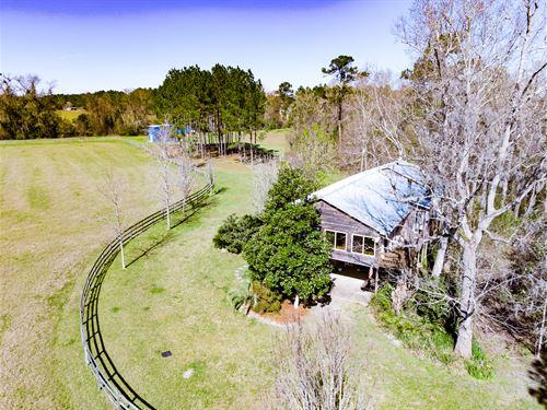 Perfect Turn-Key Recreation W Cabin : Ochlocknee : Thomas County : Georgia