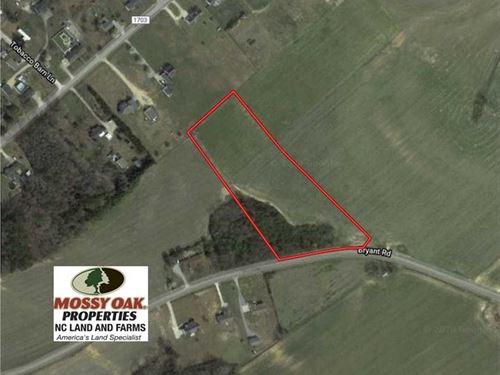 5.95 Acres of Development Land : Dunn : Harnett County : North Carolina