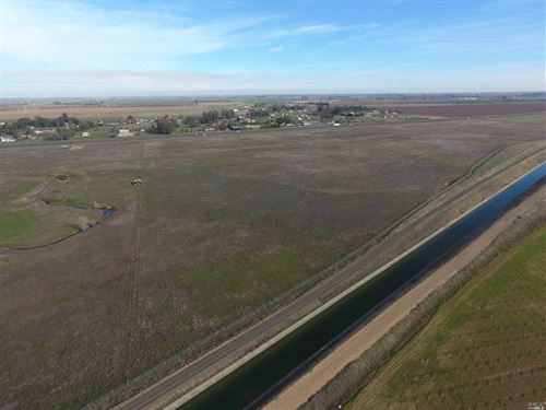 Northern California Vacant Land : Vacaville : Solano County : California