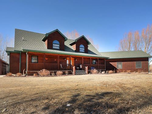 Gorgeous Custom Home With Two Lots : Salida : Chaffee County : Colorado