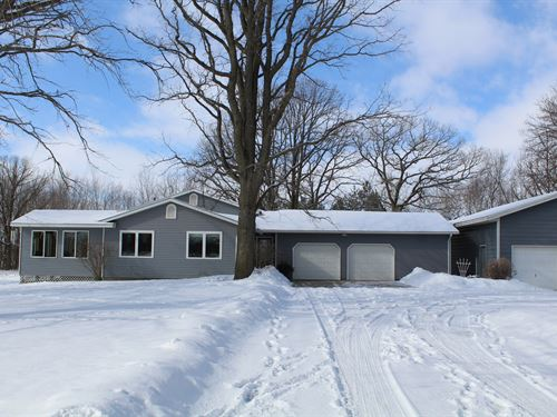 3 BR Country Home 5 Acres : Milaca : Mille Lacs County : Minnesota