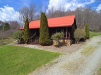 Home on 34 Acres in Blue Ridge Mtns : Mouth Of Wilson : Grayson County : Virginia
