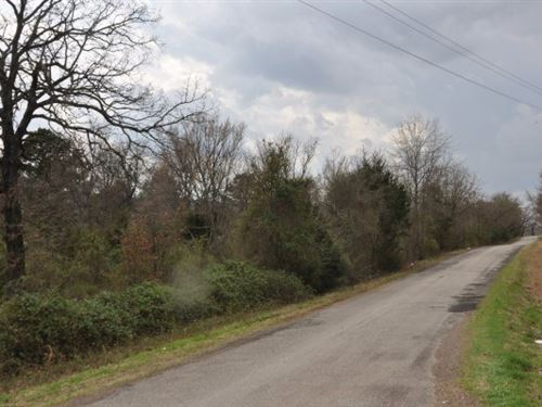10 A, Wooded Homesite 2 MI Wister : Howe : Le Flore County : Oklahoma