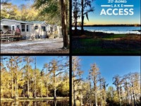 Lakefront Property, Beautifully : Trenton : Gilchrist County : Florida