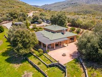 Secluded Retreat on 93 +/- Acres : Julian : San Diego County : California