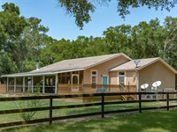 39+ Acres, Modular Home, Gilchrist : Bell : Gilchrist County : Florida