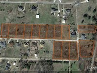 Residential Lots Building Homes : Powderly : Lamar County : Texas