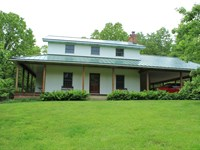 Hobby Farm, Arboretum, Custom Home : West Plains : Howell County : Missouri
