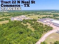 7.37 Acres in Hunt County : Commerce : Hunt County : Texas