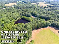 8.74 Acres in Smith County : Lindale : Smith County : Texas