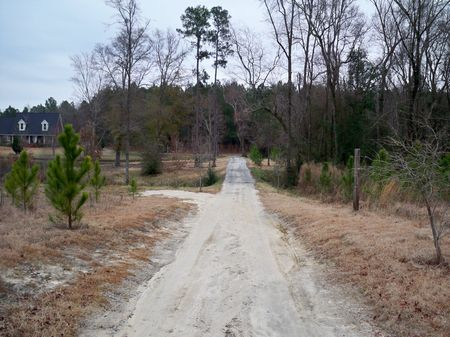 Beautiful Home & Pond On 5 Acres : Swainsboro : Emanuel County : Georgia